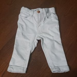12-18 months White Distressed Boyfriend Jeans